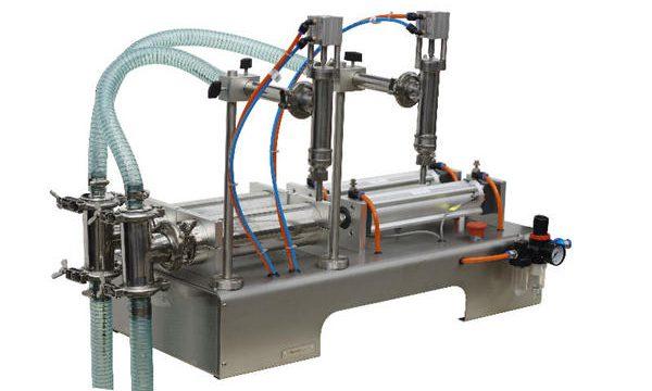 Puoliautomaattinen hunajan täyttökoneen korkea täytötarkkuus