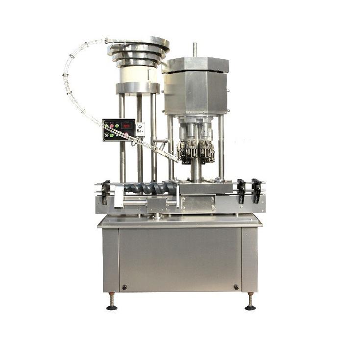 Automaattinen monipään ROPP-korkin korkkikone / pullon korkin sulkemiskone