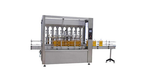 Täysin automaattinen voiteluöljy 5L pullon täyttö kone