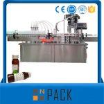 Automaattinen kiertävän pullon nesteitäyttöinen kone täyttölaitteella