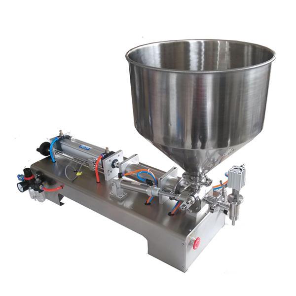 Puoliautomaattinen männälasihunainen hunaja täyttö kone