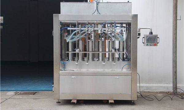 Puhdas pneumaattinen puoliautomaattinen tomaatti kastike täyttö kone