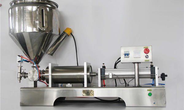 Erittäin tarkka puoliautomaattinen sekoitettu hedelmähillojen täyttökone, jossa CE-GMP