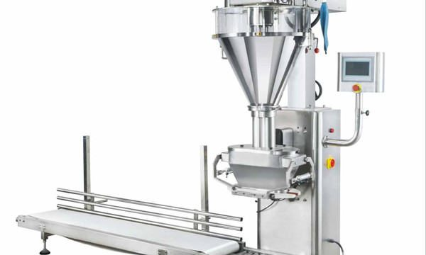 Puoliautomaattinen maitojauheen täyttökone