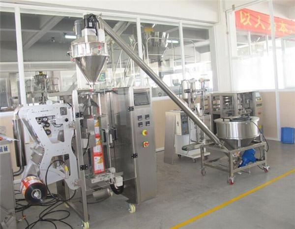 Nostava jauhe ja automaattinen jauhepussi täyttö kone