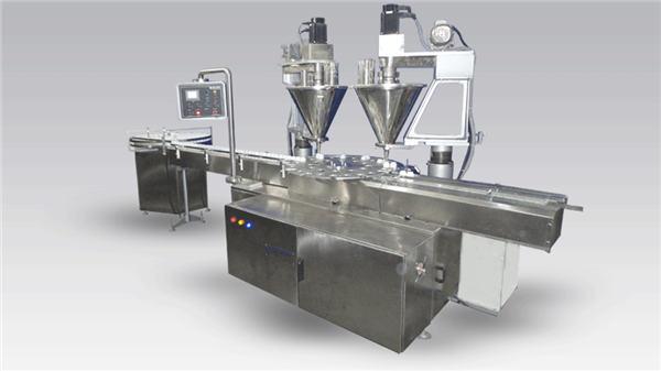 6-pään automaattisen kahvin täyttölaitejauhe