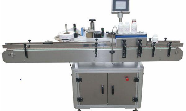 Automaattinen kaksipuolinen etiketöintikone lemmikkieläinten muovipullolle