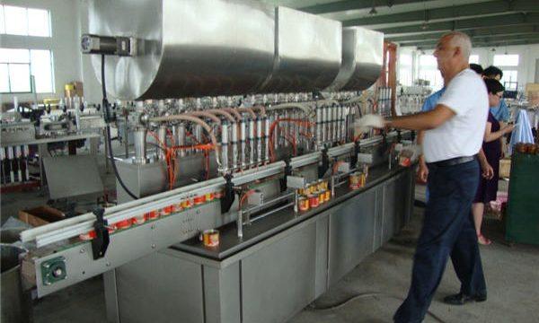 200-1000ml automaattinen soijakastike täyttö kone