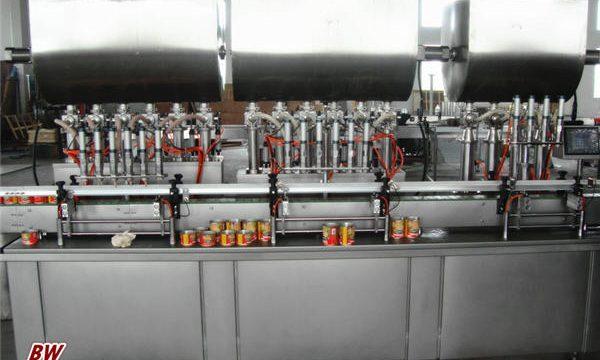Automaattinen kuuma pizzakastike täyttö kone