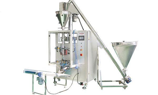 Pystysuora automaattinen jauheen täyttö- ja sulkemiskone