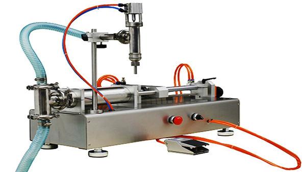 Kaksipäiset pneumaattiset kerman täyttökoneet 100-1000ml