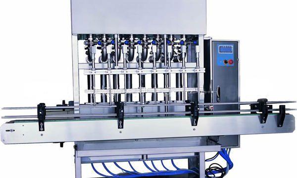 Ruostumattomasta teräksestä valmistettu nestesaippua täyttö kone