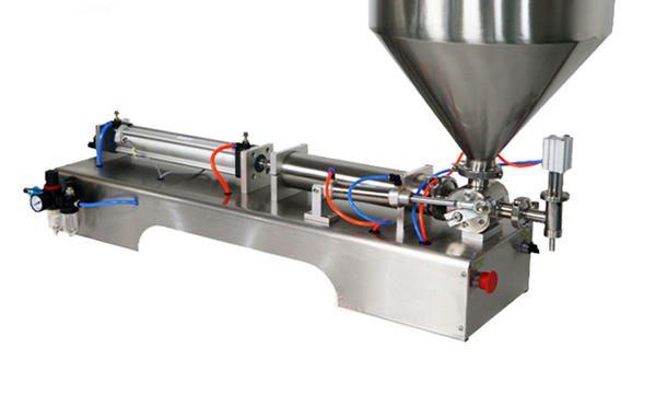100-1000ml puoliautomaattinen kermanvärin täyttölaite
